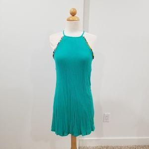 The Vanity Room Teal Dress